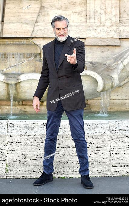 Max Tortora during 'La volta buona' film photocall, Rome, 04/03/2020