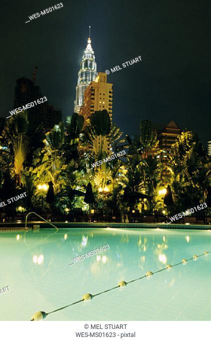 Petronas, Twin Tower, Kuala Lumpur, Malaysia, Asia