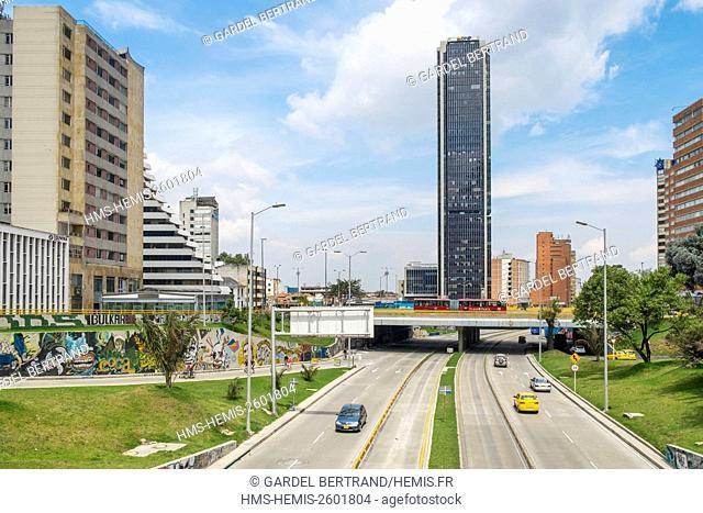 Colombia, Cundinamarca department, Bogota, Centro district, Avenida Jimenez