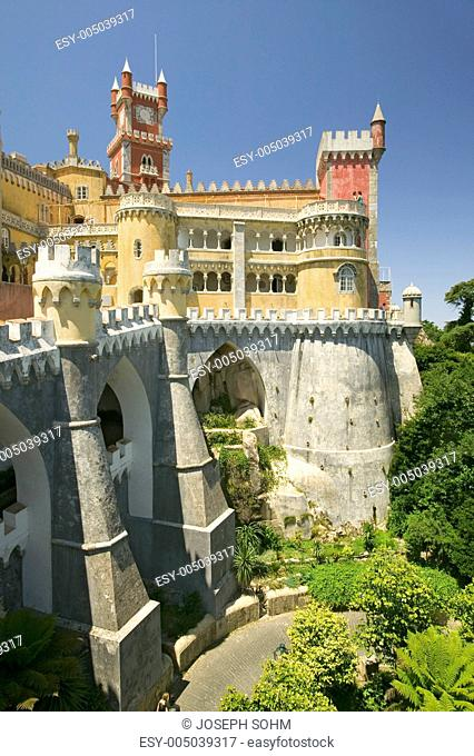 Da Pena Royal Palace, Palcio da Pena, or Castelo da Pena as it is more commonly known, is the most complete and notable example of Portuguese architecture from...