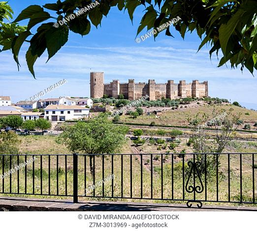Burgalimar Castle. Baños de la Encina. Jaen Province. Andalusia. Spain