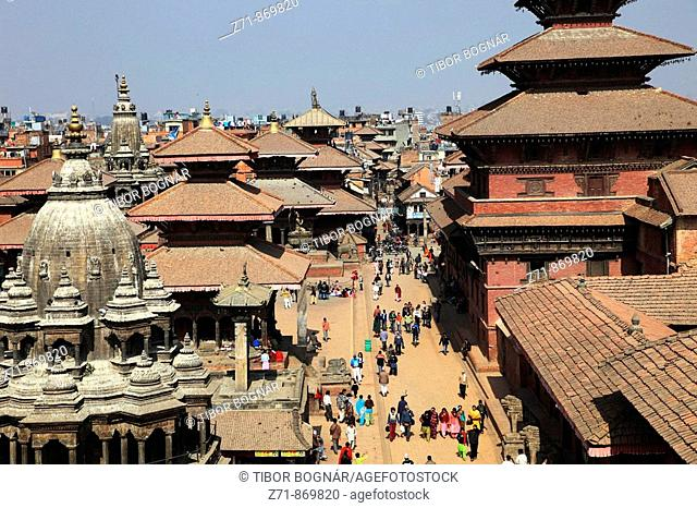 Nepal, Kathmandu Valley, Patan, Durbar Square, Royal Palace