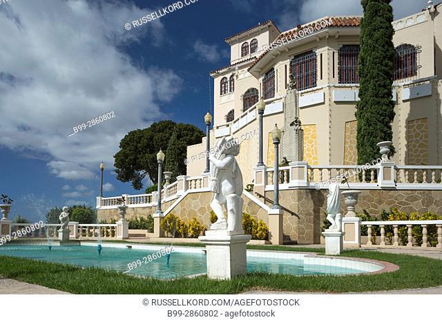 TERRACED FORMAL GARDENS MUSEO CASTILLO SERRALLES (©PEDRO ADOLFO DE CASTRO 1930) EL VIGIA HILL PONCE PUERTO RICO