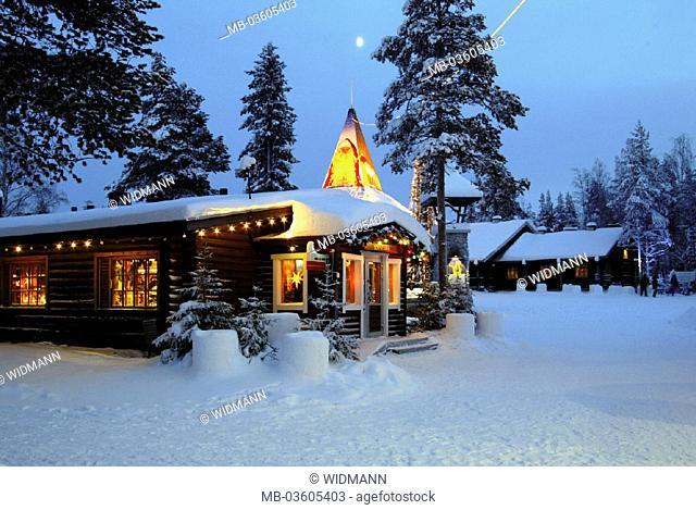 Finland, Lapland, Rovaniemi