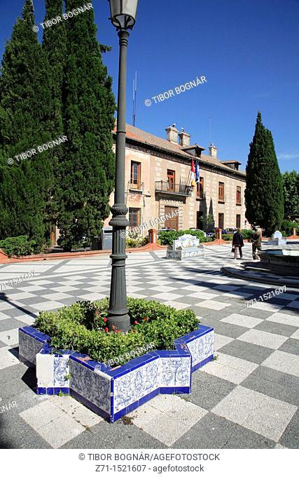 Spain, Castilla La Mancha, Talavera de la Reina, Plaza del Pan, Toledo