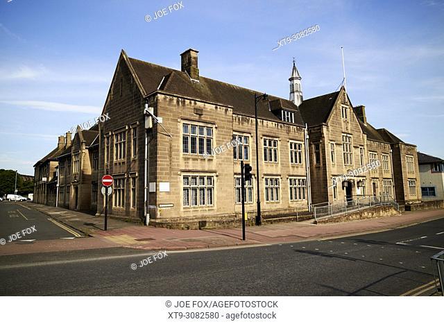 Carlisle Magistrates Court in the old police station rickergate Cumbria England UK
