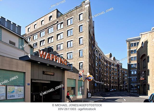 Apartments Gun Wharf, Wapping, London