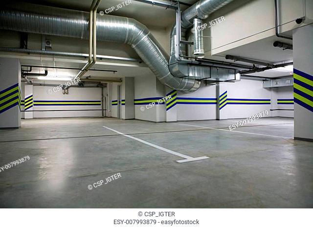 Parking in a cellar