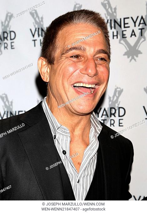 Opening night for Billy and Ray at the Vineyard Theatre - Arrivals. Featuring: Tony Danza Where: New York, New York, United States When: 20 Oct 2014 Credit:...