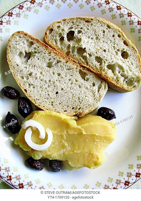Fava  Yellow split pea puree, Greece