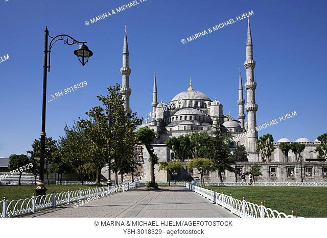 Blue Mosque; Istanbul; Turkey