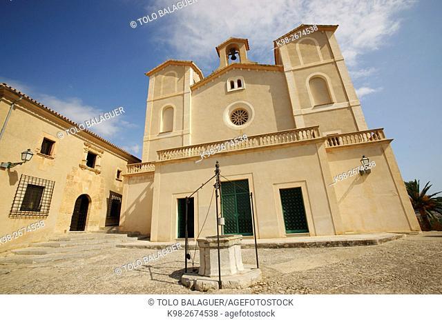 Sant salvador de S'almudaina, siglo XIV. Artà. Majorca, Balearic Islands, Spain