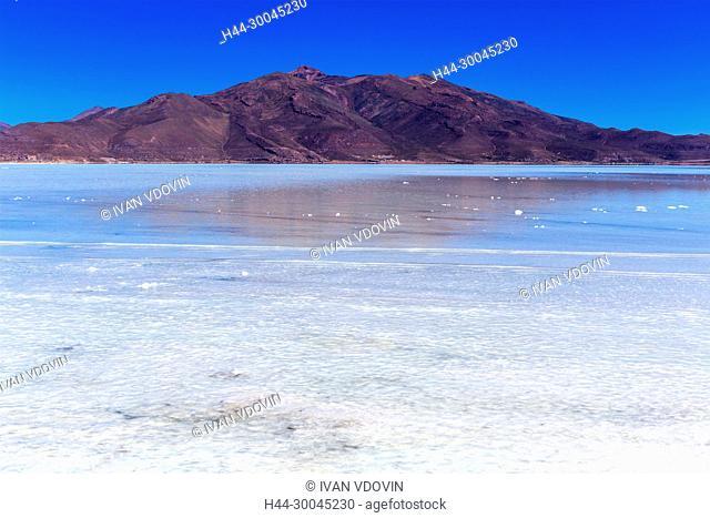 Uyuni salt flat, Salar de Uyuni, near Chuvica, Potosi department, Bolivia
