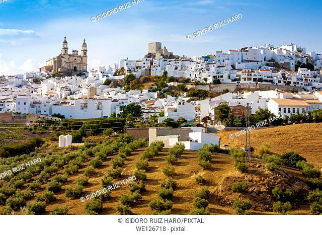 Olvera. Ruta de los Pueblos Blancos. Cádiz. Andalucia. Spain