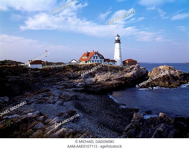 Lighthouse, Portland Head New England, ME
