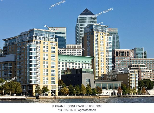 Riverside Apartments, Docklands, London, England