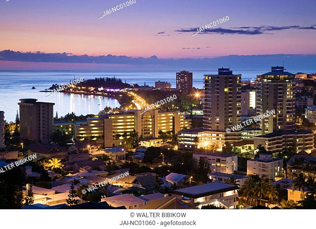 New Caledonia, Grande Terre Island, Noumea, Hotels on Anse Vata resort area