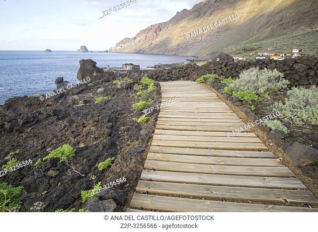Mirador Playa del Rio Viewpoint Las Puntas La Frontera El Hierro island Canary islands Spain
