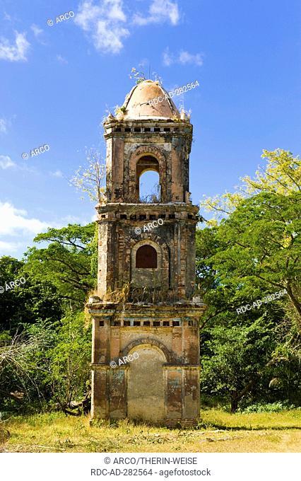 Ruins of the San Isidro sugar refinery, Valle de los Ingenios, Valley of the sugar refineries, Trinidad, Sancti Spiritus Province, Cuba