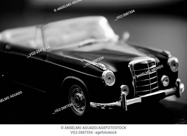 toy luxury convertible european car