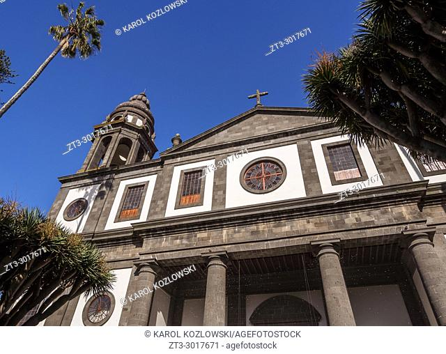 Cathedral in San Cristobal de La Laguna, Tenerife Island, Canary Islands, Spain