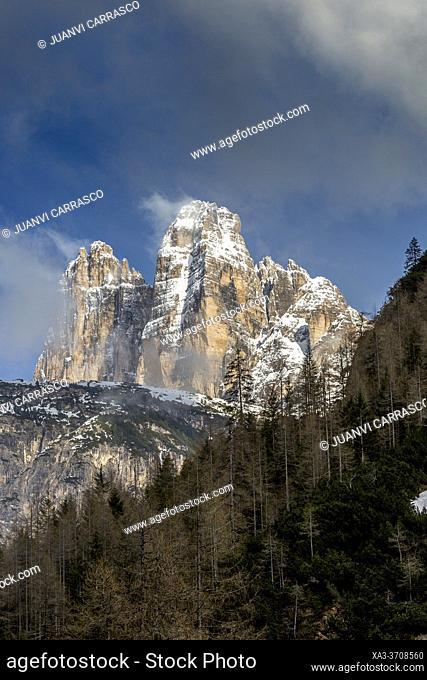 Tre Cime di Lavaredo, Dolomites, Italian Alps