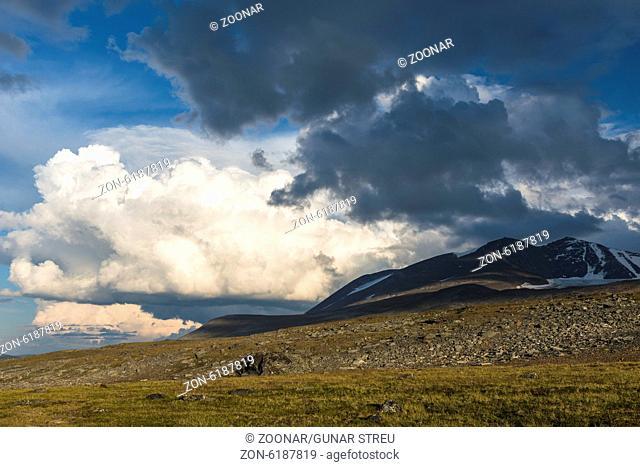 cloud formation, Sarek NP, Lapland, Sweden