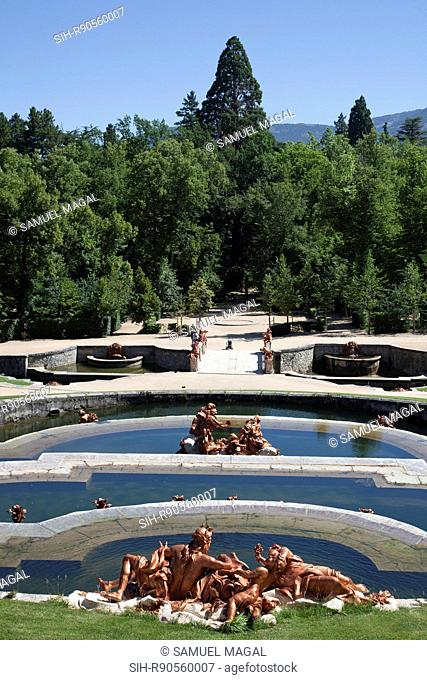 The Royal Palace of La Granja de San Ildefonso is a baroque palace complex that was a summer royal residence of Philip V in 18th century and a governmental...