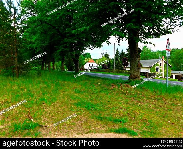 The natural landscape in the beautiful Uckermark