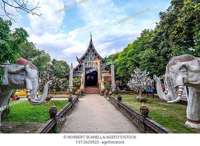 Asia. Thailand, Chiang Mai. Wat Lok Molee