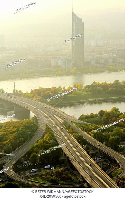 Wien, Milleniumstower, Austria, Vienna, 22. District, Donaucity