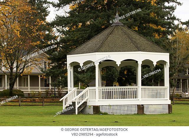 Bandstand, Fort Vancouver National Historic Site, Vancouver National Historic Reserve, Washington
