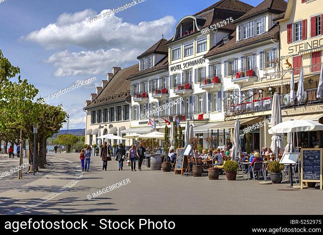 Hotel Schwanen, Rapperswil, Rapperswil-Jona, St. Gallen, Sankt Gallen, Switzerland, Europe
