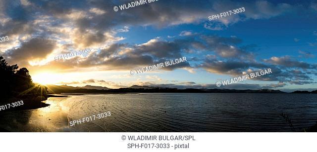 Bay in New Zealand
