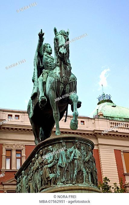 Monument, architecture, Belgrade, Serbia