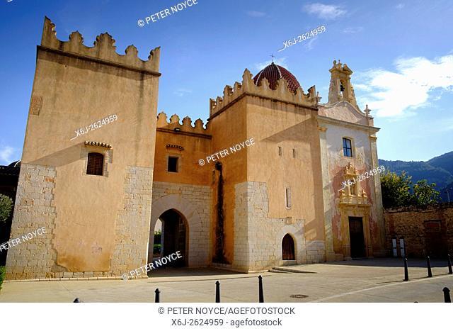 The Cistercian Monastery of Saint Mary of Valldigna in Simat Spain