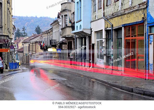 Nikola Picolo street in Veliko Tarnovo, Bulgaria