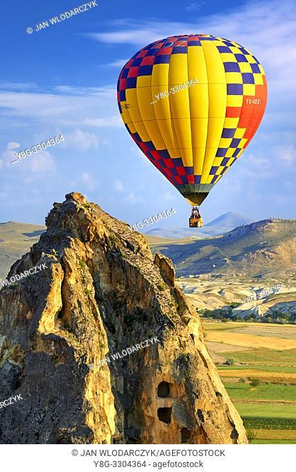 Hot air balloon, Goreme, Cappadocia, Turkey