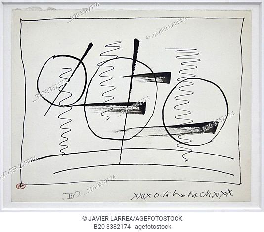 """""""Circles and Signs.III"""", 1930, Pablo Picasso, Picasso Museum, Paris, France, Europe"""
