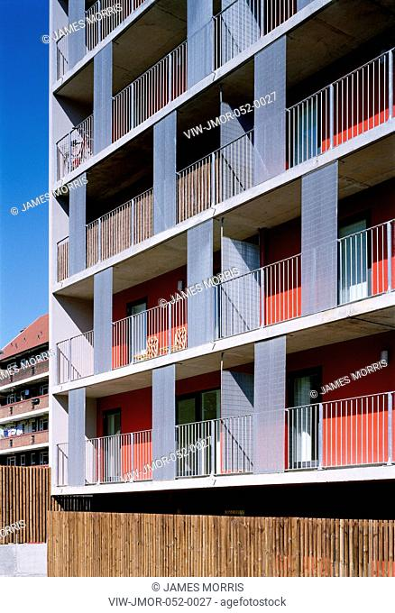 Pembury Estate, London, United Kingdom, Fraser Brown Mackenna Architects, 2007.,AFFORDABLE HOUSING, Architect