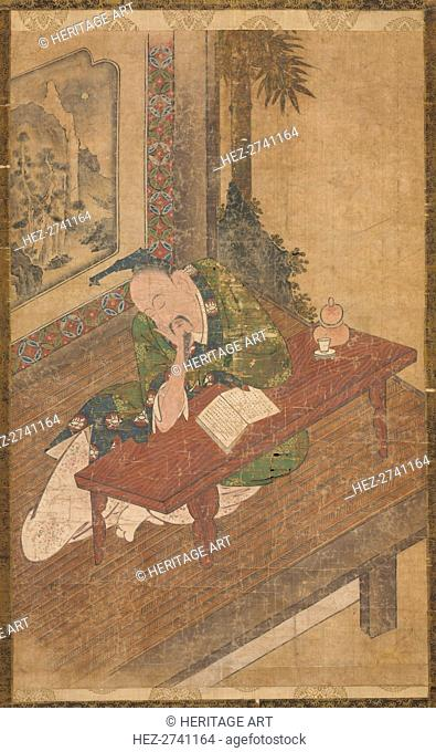 Sleeping Poet, 18th century. Creator: Unknown