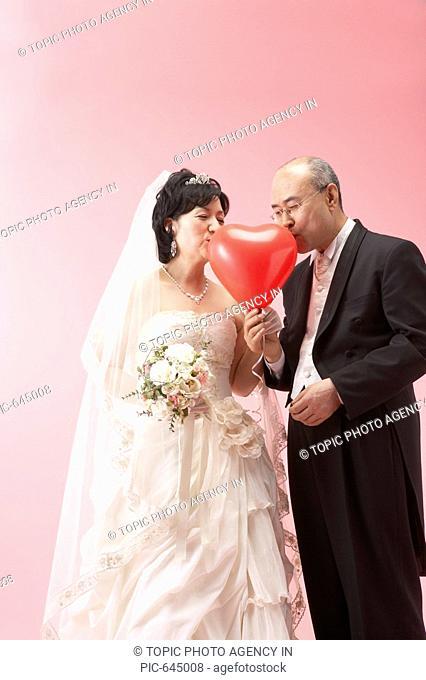 Senior Bride and Groom,Korea
