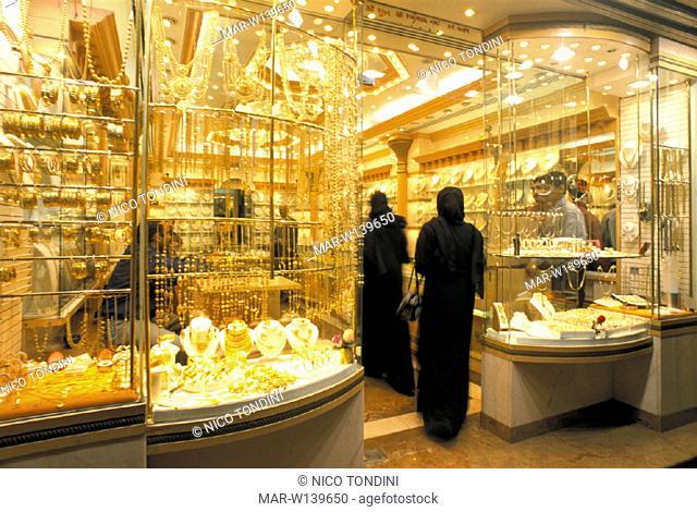 united emirates, dubai, gold souk