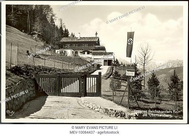 The chalet-like upper part of his home, the Berghof (also known as the Eagle's Nest) : twelve subterranean floors are beneath what we see