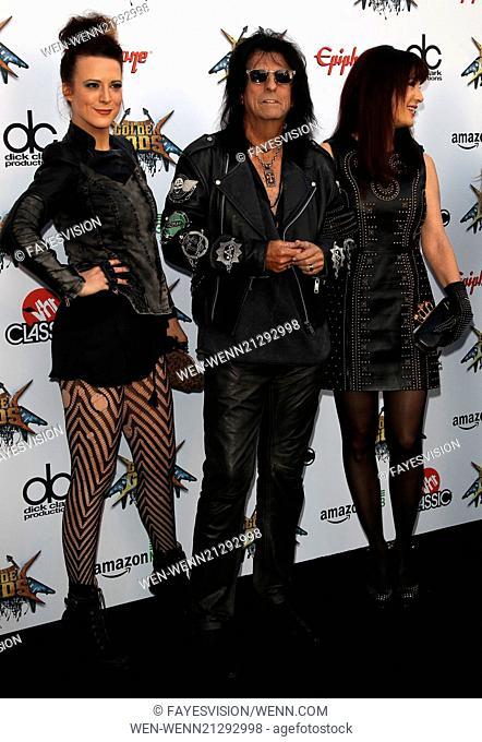 2014 Revolver Golden Gods Award Show Featuring: Alice Cooper,Sheryl Cooper,Calico Cooper Where: Los Angeles, California, United States When: 23 Apr 2014 Credit:...