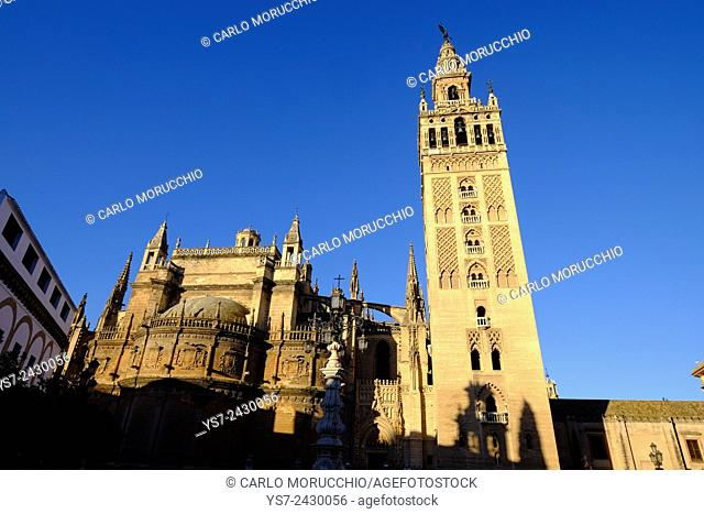 Seville Cathedral and Giralda, Andalusia, Spain