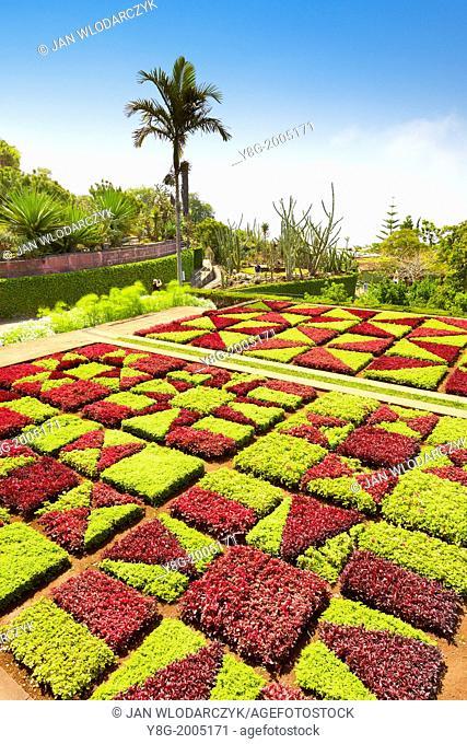 The Madeira Botanical Garden - Funchal, Madeira, Portugal