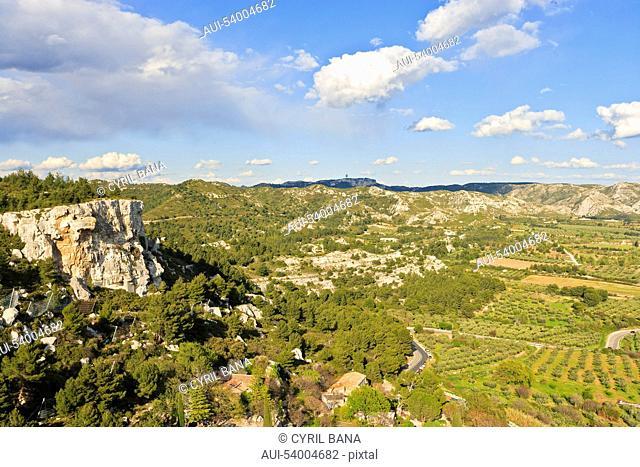 France, Provence, Les Alpilles, landscape