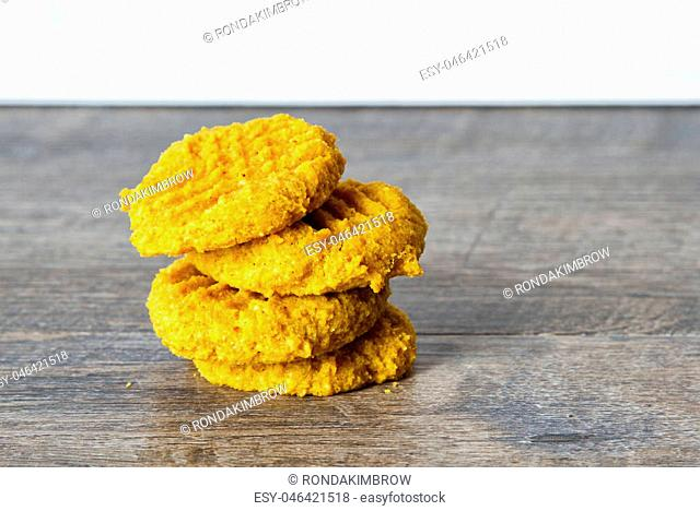 ketogenic atkins pumpkin butter cookies for a low carb diet or gluten free diet