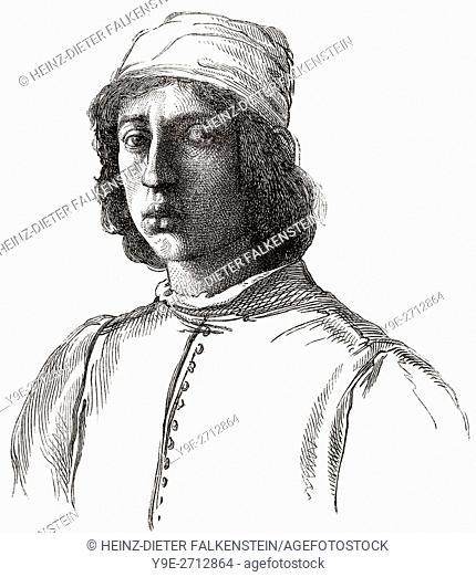 Fra' Filippo Lippi, or Lippo Lippi, 1406-1469, an Italian painter